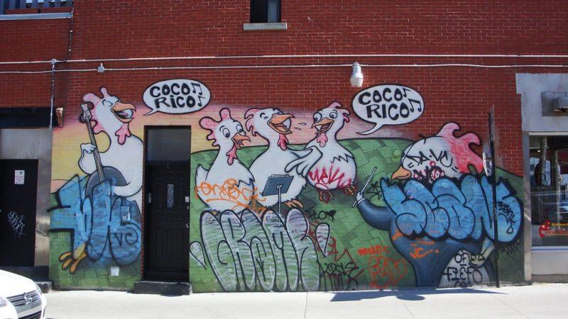 Le street art à Montréal